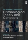 Image for The Routledge companion to criminological theory and concepts