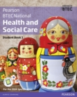Image for BTEC Nationals health and social care  : for the 2016 specificationsStudent book 1