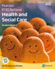 Image for BTEC Nationals Health & social care: Student book 2 + activebook