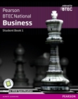 Image for BTEC Nationals business  : for the 2016 specificationsStudent book 1