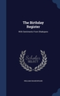 Image for The Birthday Register : With Sentiments from Shakspere