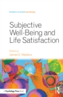 Image for Subjective well-being and life satisfaction
