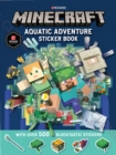 Image for Minecraft Aquatic Adventure Sticker Book