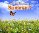 Image for What can you see in summer?