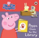 Image for Peppa goes to the library