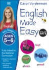 Image for English made easyAges 5-6 Key stage 1
