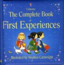 Image for The complete book of first experiences