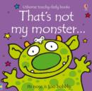 Image for That's not my monster--