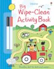 Image for Big Wipe Clean Activity Book