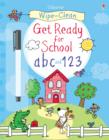 Image for Wipe-Clean Get Ready for School ABC and 123