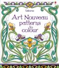 Image for Art Nouveau Patterns to Colour