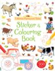 Image for Farmyard Tales Colouring and Sticker Book