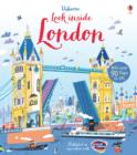 Image for Usborne look inside London  : with over 90 flaps to lift
