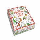 Image for 20 Christmas Cards to Colour