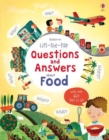 Image for Usborne lift-the-flap questions and answers about food