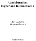 Image for Higher and Intermediate 2 administration
