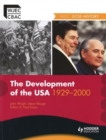 Image for The development of the USA, 1929-2000
