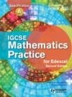 Image for IGCSE mathematics practice for Edexcel