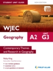 Image for WJEC A2 geography.: (Student unit guide) : Unit G3,