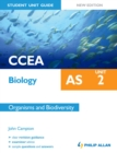Image for CCEA AS biology.: (Organisms and biodiversity) : Unit 2,