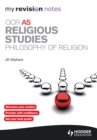 Image for OCR AS religious studies.: (Philosophy of religion)