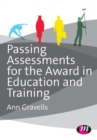 Image for Passing assessments for the Award in Education and Training
