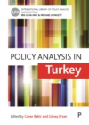 Image for Policy analysis in Turkey : 14