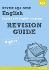 Image for English and English languageHigher,: Revision guide
