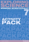 Image for Exploring Science: Working Scientifically Activity Pack Year 7