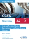 Image for CCEA chemistry A2.: (Student unit guide) : Unit 1,