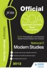 Image for SQA specimen paper 2013 National 5 modern studies and model papers.