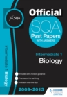 Image for SQA Past Papers 2013 Intermediate 1 Biology.