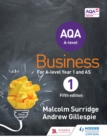 Image for AQA business for A level 1