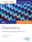 Image for AQA chemistry.: (Inorganic and organic chemistry) : Student guide 2,