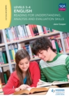 Image for English: reading for understanding, analysis and evaluation skills. : Levels 3-4