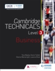 Image for Cambridge technicalsLevel 3,: Business
