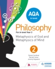 Image for AQA A-level philosophy.: (Metaphysics of god and metaphysics of mind) : Year 2,
