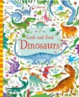 Image for Look and find dinosaurs