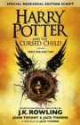 Image for Harry Potter and the cursed child  : parts I & II