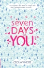 Image for Seven days of you