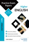 Image for Higher English - practice papers for SQA exams