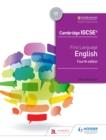 Image for First language English. : Cambridge IGCSE