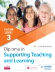 Image for CACHE level 3 diploma in supporting teaching and learning