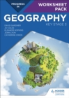Image for Progress in geographyKey Stage 3,: Worksheet pack