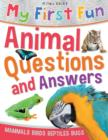Image for My first fun animal questions and answers