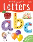 Image for Learn to Write Letters