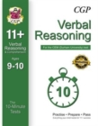 Image for 10-Minute Tests for 11+ Verbal Reasoning (Ages 9-10) - CEM Test