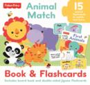 Image for Fisher Price Jigsaw Flashcards Animal Match