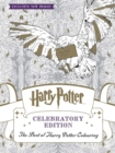 Image for Harry Potter Colouring Book Celebratory Edition : The Best of Harry Potter colouring