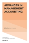 Image for Advances in management accounting